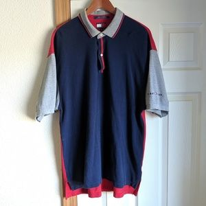 Tommy Hilfiger Colorblock Classic Polo Shirt XL